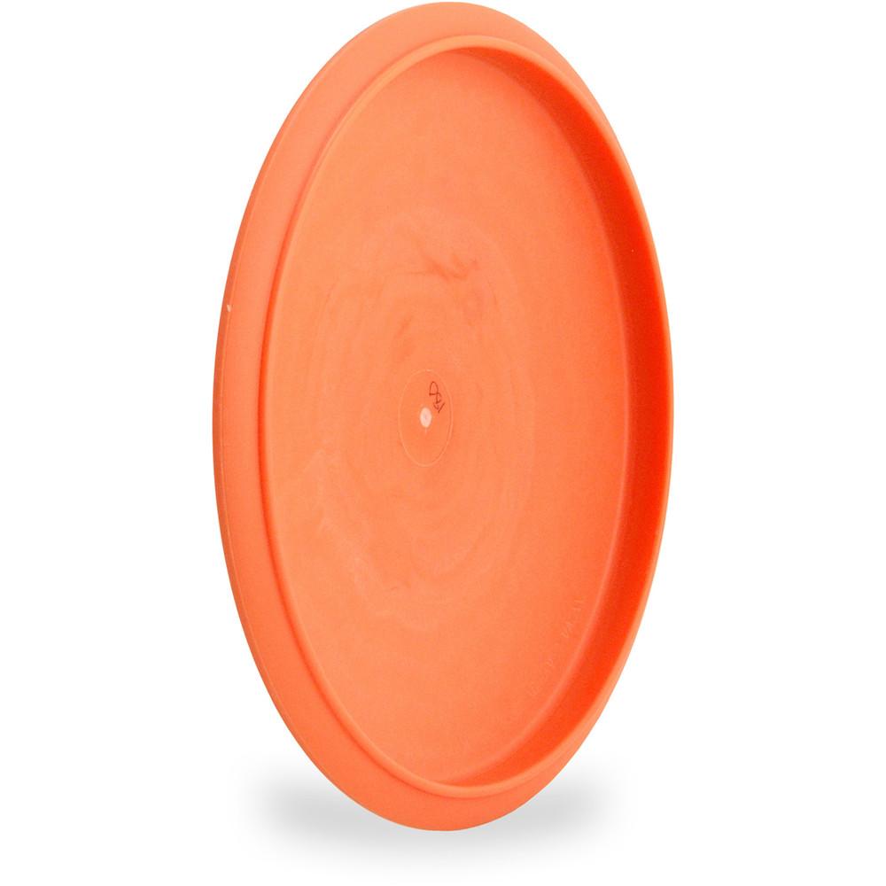 Innova DX VROC Disc Golf Mid-Range (VROC1) Orange Angled Bottom View