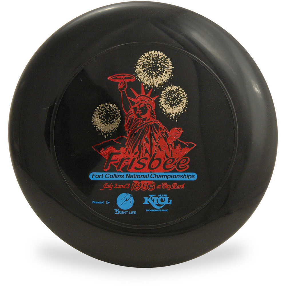 DISCRAFT SKY-STYLER COLLECTION - 1983 4TH OF JULY 160g FREESTYLE FLYING DISC