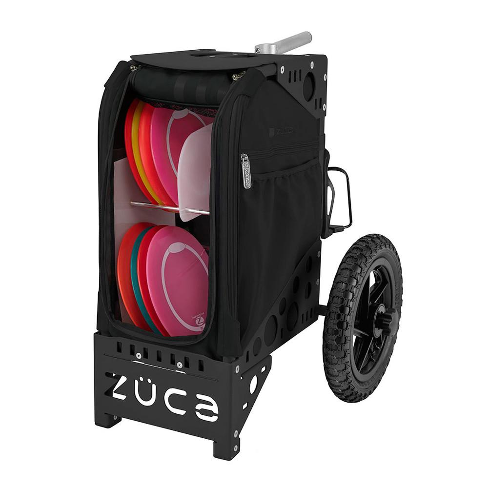 ZUCA ALL TERRAIN DISC GOLF CART - Covert/Black Frame
