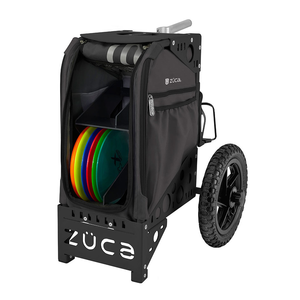 ZUCA ALL TERRAIN DISC GOLF CART - Gunmetal/Black Frame