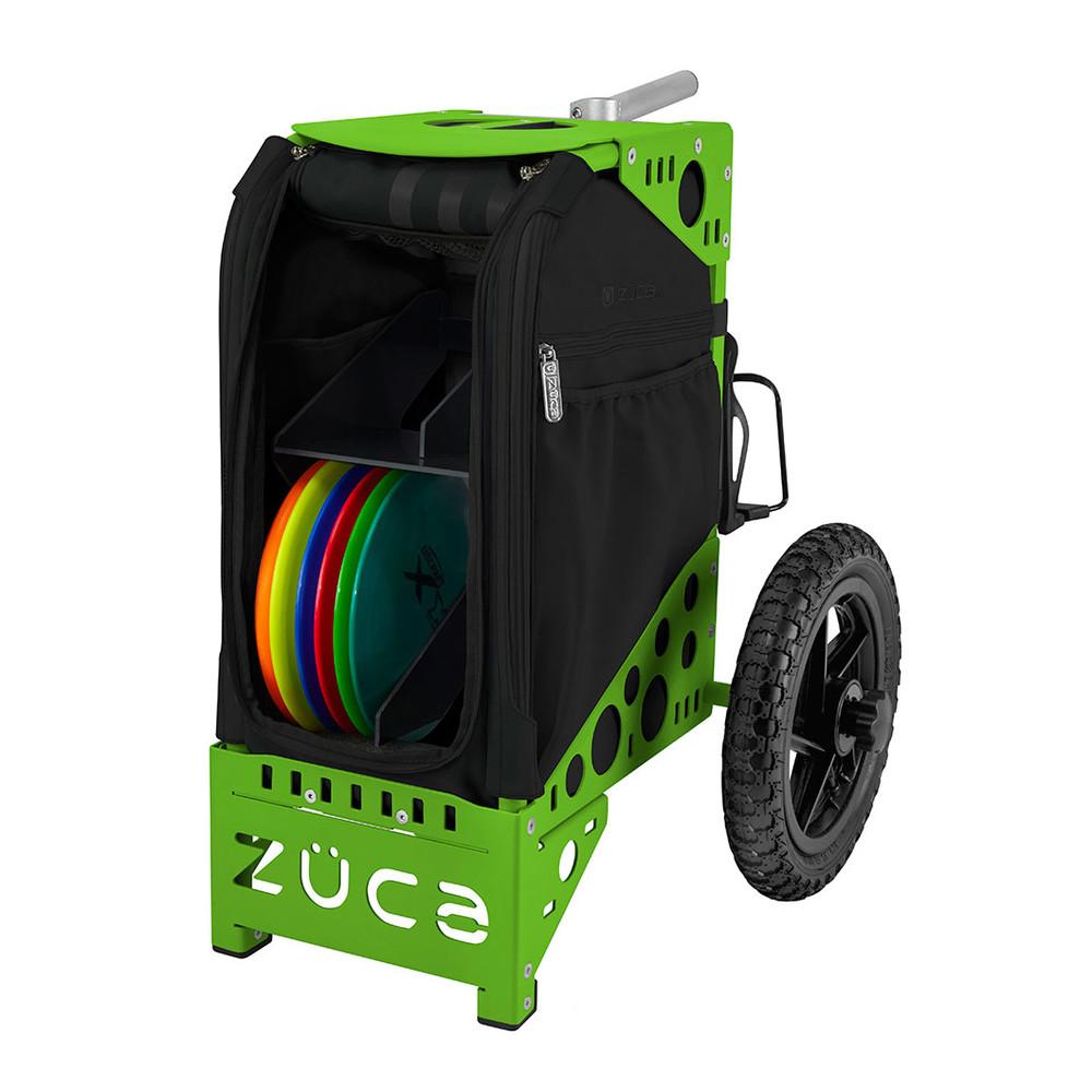 ZUCA ALL TERRAIN DISC GOLF CART - Covert/Green Frame