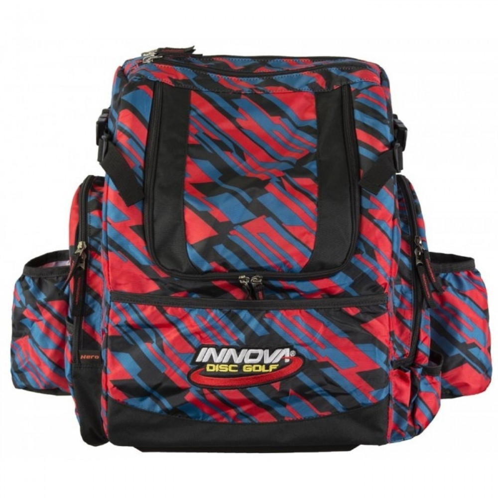 Geometrick HEROPACK INNOVA DISC GOLF BACKPACK BAG - HOLDS 25 DISCS