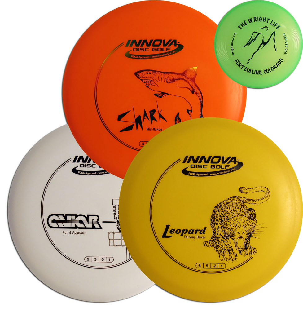 Innova DISC GOLF BEGINNER SET - Includes 3 Discs + Mini Marker