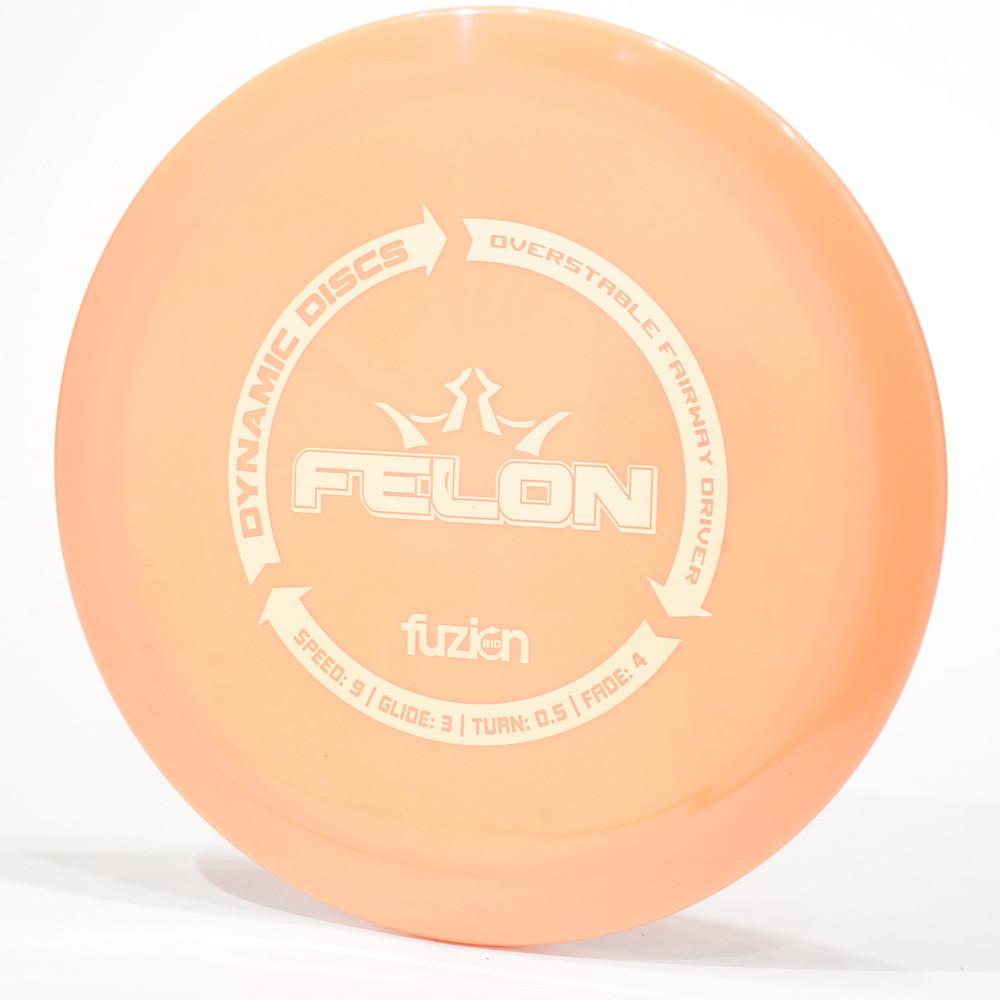 Dynamic Discs Felon (BioFuzion) Orange Top View