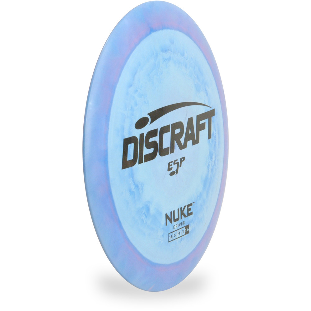 Discraft ESP Nuke Disc Golf Driver Angled Front View