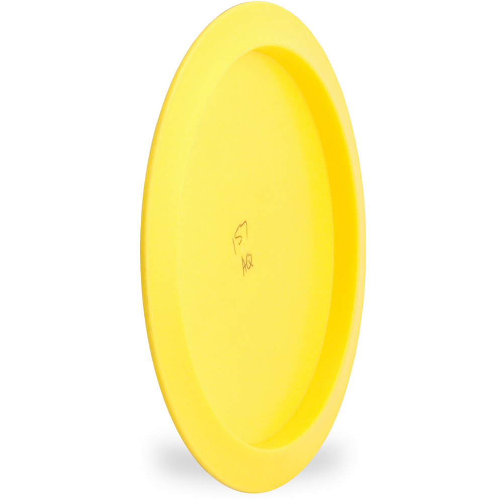 Millenium AQUARIUS Floating Disc Golf Driver Angled Bottom View Yellow