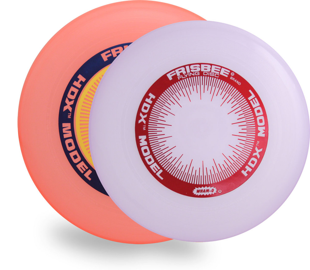 WHAM-O HDX FREESTYLE FRISBEES 2 PACK - SET OF 82E MOLD + 100 MOLD - ASST COLORS