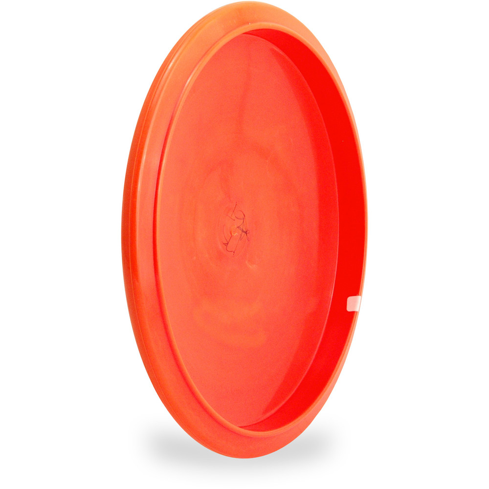 Innova STAR GATOR Disc Golf Mid-Range Driver ANgled Bottom Voew Orange