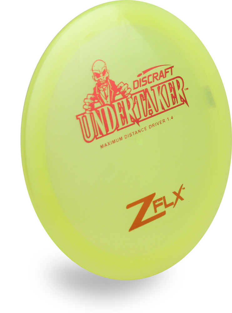 DISCRAFT Z FLX UNDERTAKER DISC GOLF DISTANCE DRIVER