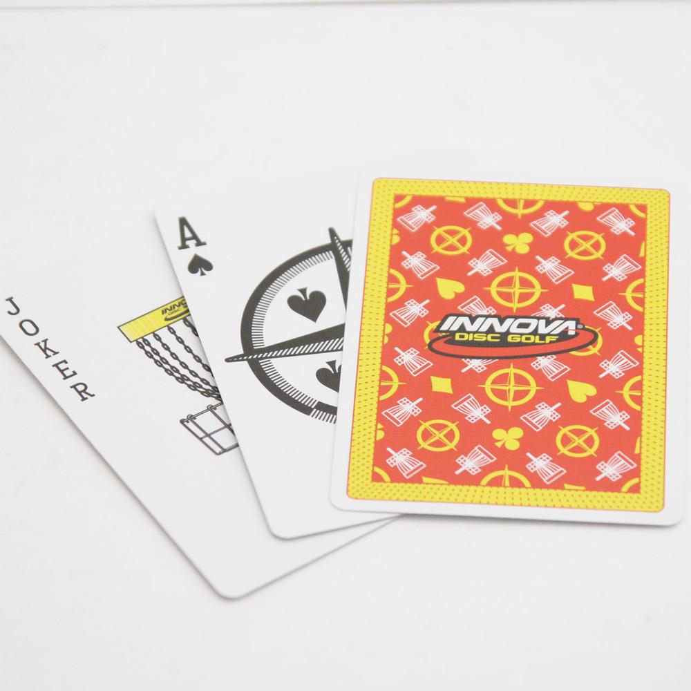 INNOVA DISC GOLF PLAYING CARDS