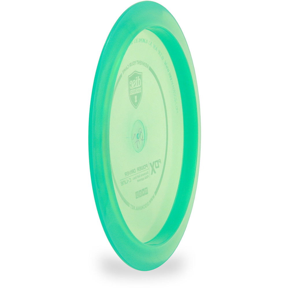 Discmania C PDX Disc Golf Driver Green Angled Back View