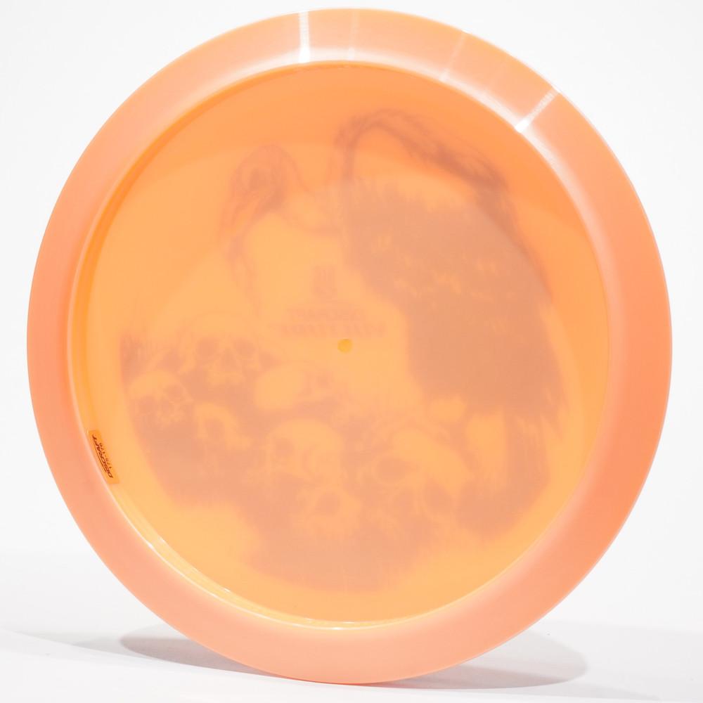 Discraft Big Z Vulture Orange Bottom View