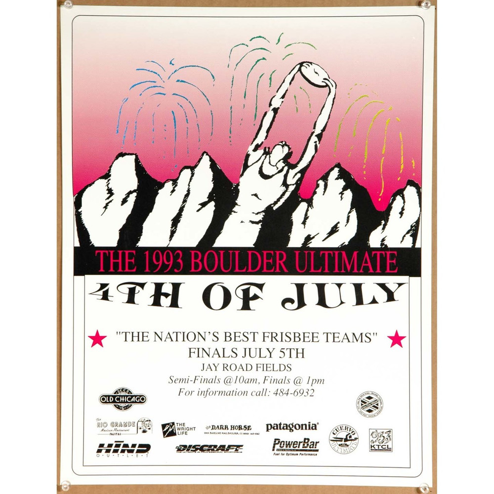 1994 Ultimate Fourth of July - Boulder Poster