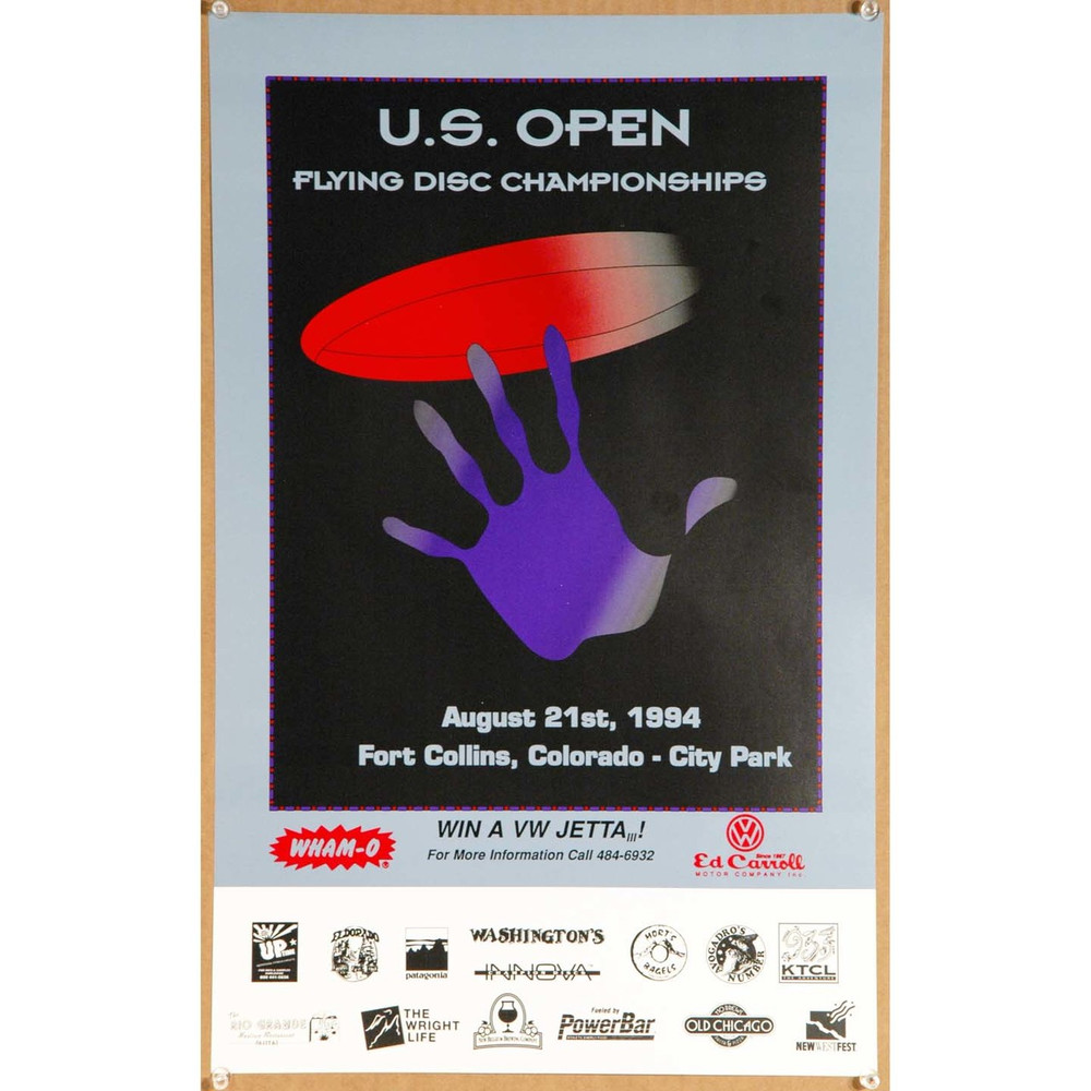 1994 US Open Flying Disc Championships, Fort Collins Poster