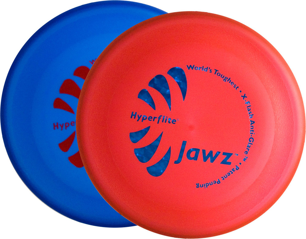 Hyperflite Jawz 2 Pack - Durable Frisbee Dog Discs - Heavy Duty and Tough