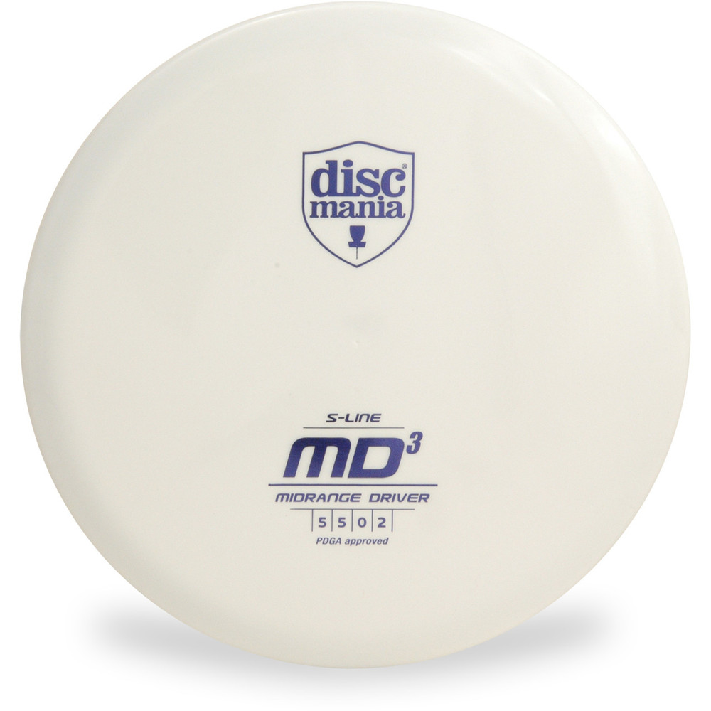 Discmania S-LINE MD3 Disc Golf Mid-Range - white