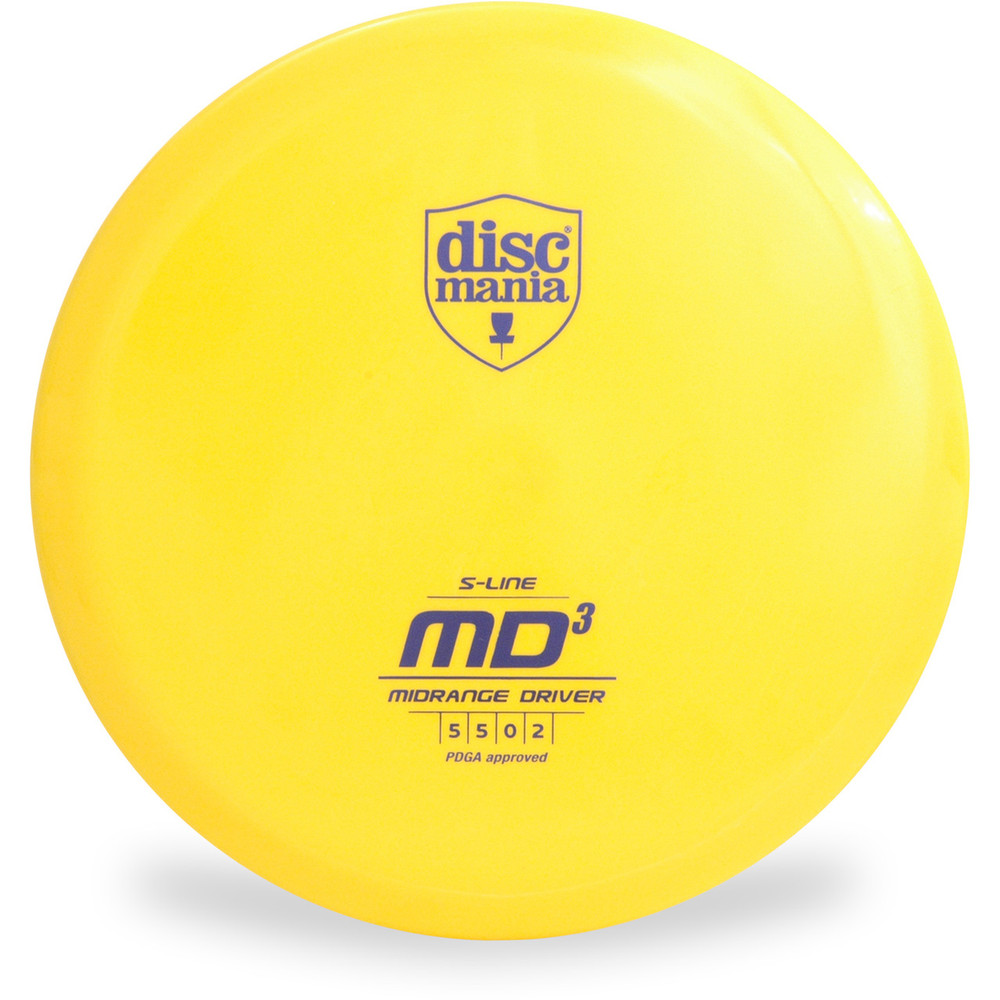 Discmania S-LINE MD3 Disc Golf Mid-Range - front view
