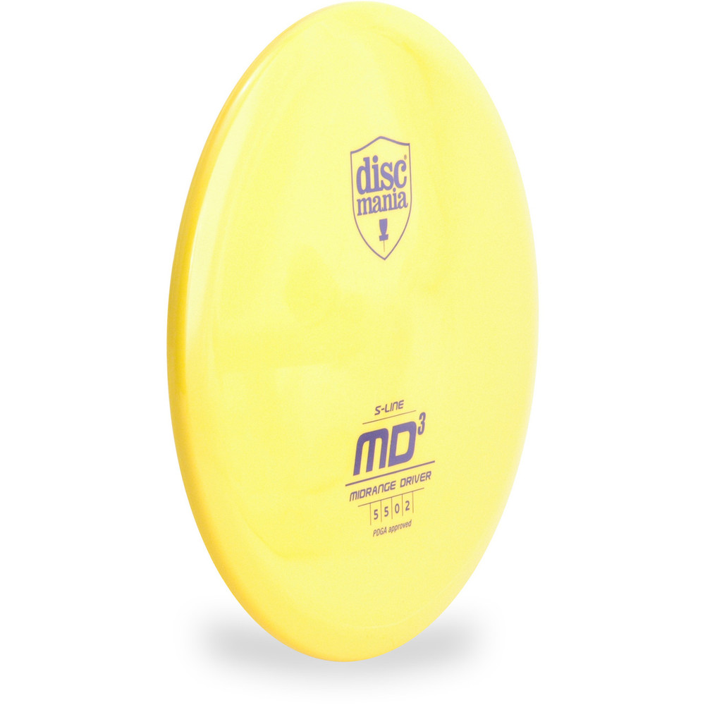 Discmania S-LINE MD3 Disc Golf Mid-Range - side view