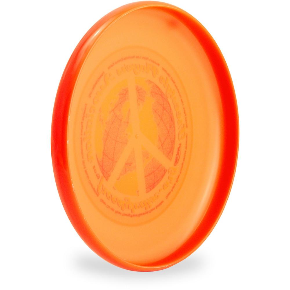 DISCRAFT SKY STYLER FREESTYLE DISC - CUSTOM FPA 2019 DESIGN Orange side back
