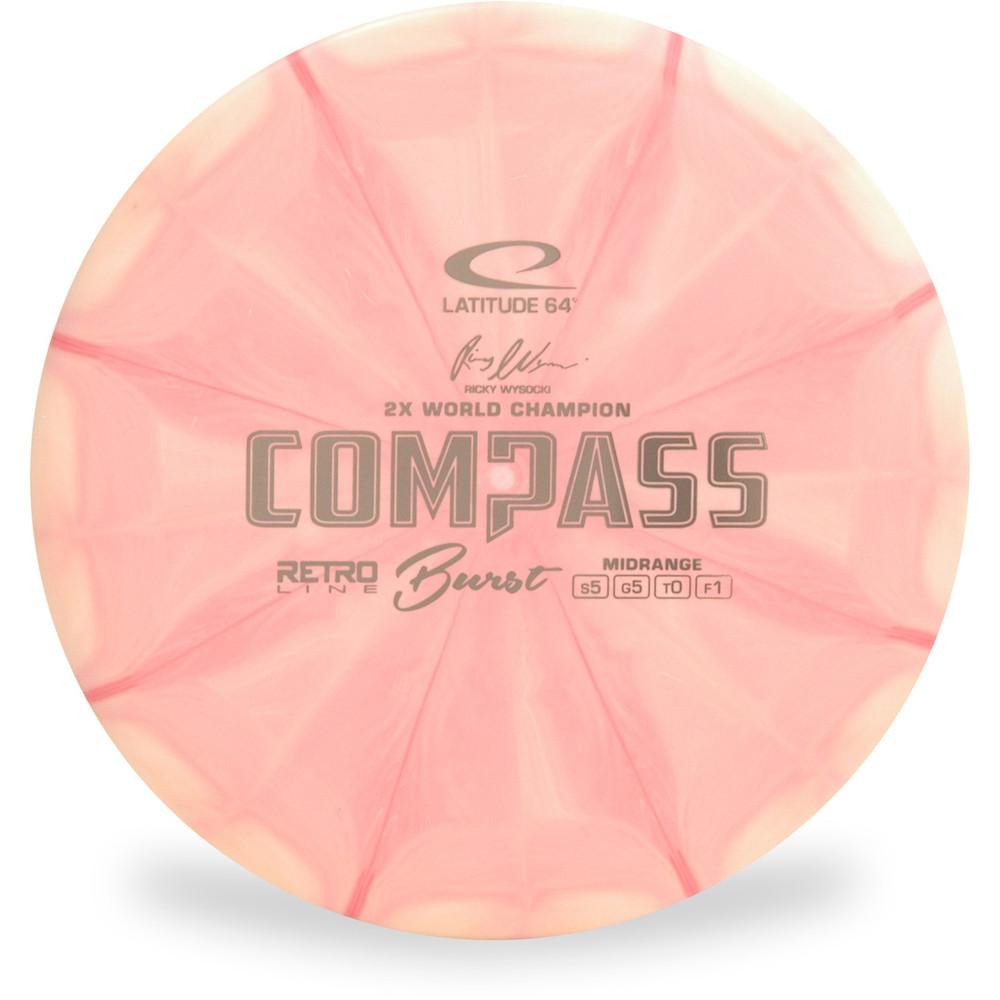 Latitude 64 Compass (Retro Burst)