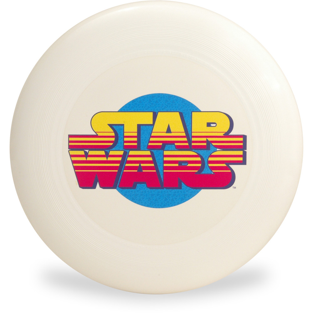 Discraft ULTRA-STAR - Star Wars Series SuperColor Ultimate Frisbee Disc - Star Wars Logo - Top View