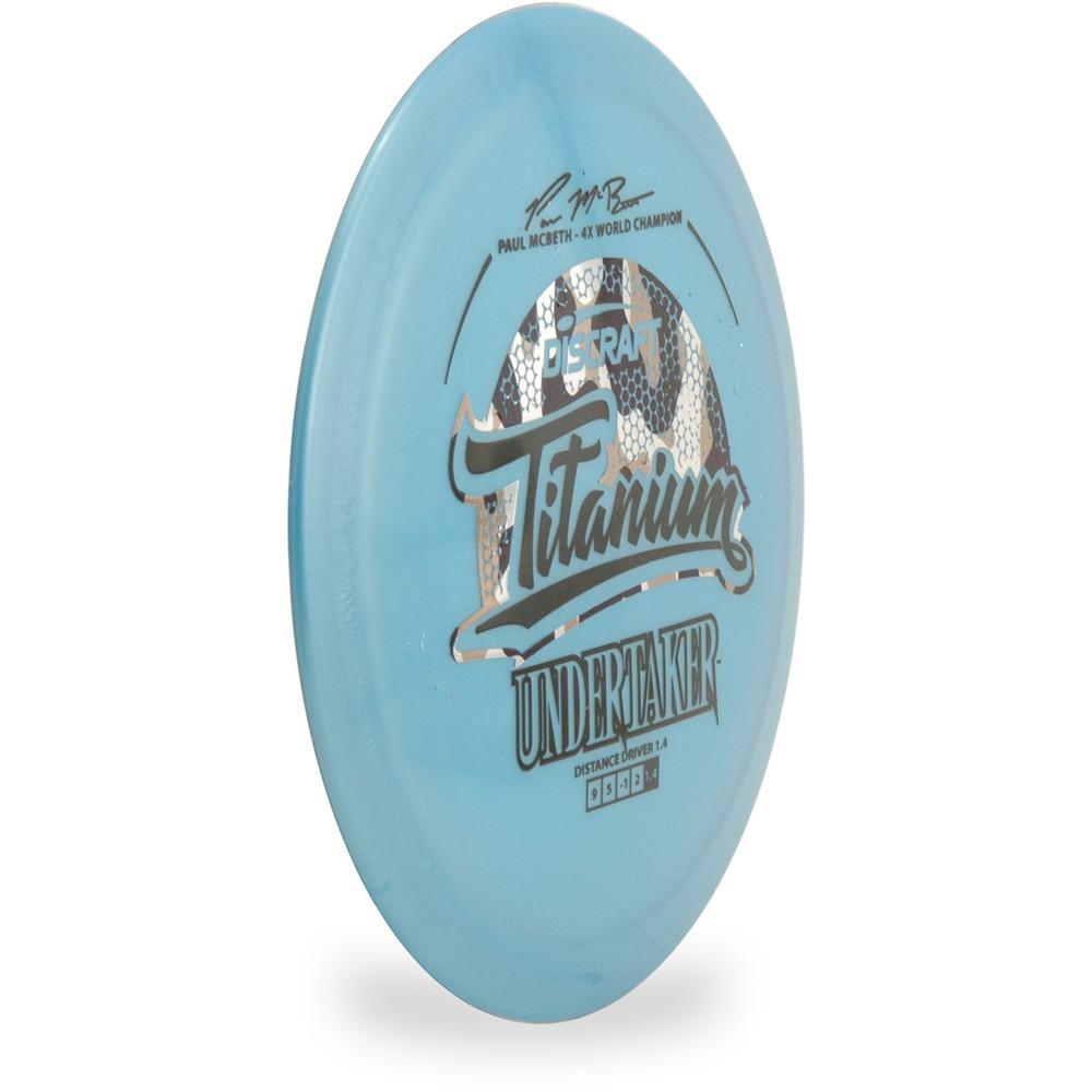 Discraft Undertaker (Titanium) 5x Paul McBeth Signature *Pick One*