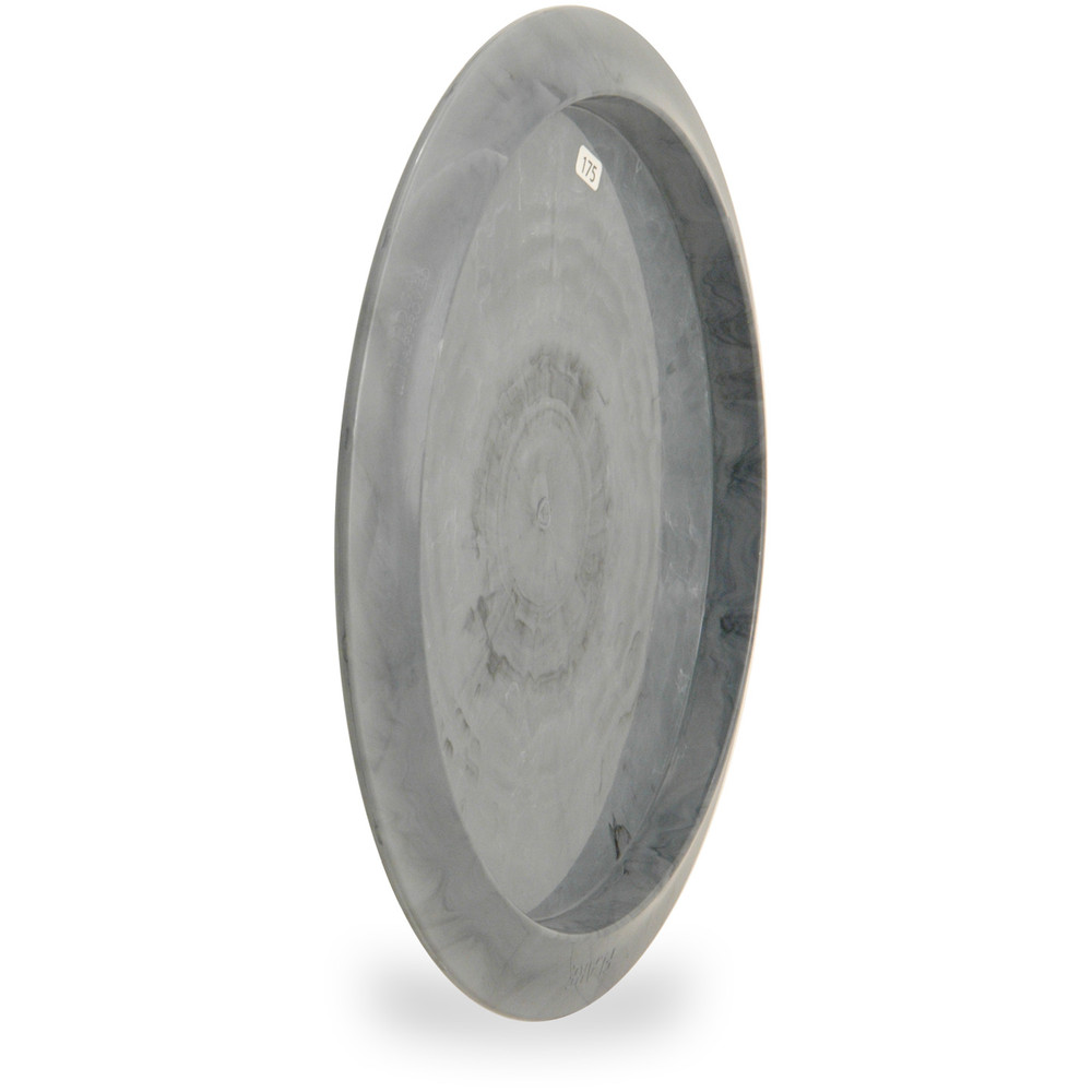 Streamline NEUTRON FLARE Disc Golf Driver - angled back view of gray disc