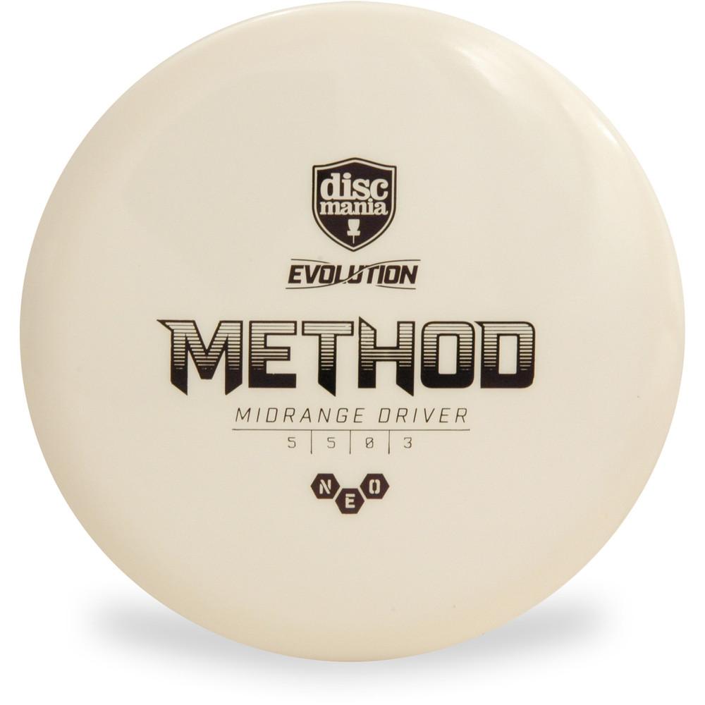 Discmania Evolution NEO METHOD Mid-Range Golf Disc White Top View