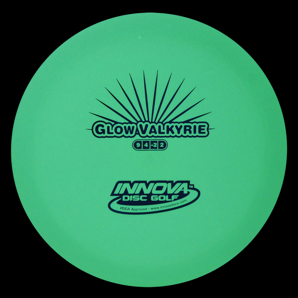 Innova DX GLOW VALKYRIE - OLD STAMP Glow in the Dark Driver (OOP) Glow View
