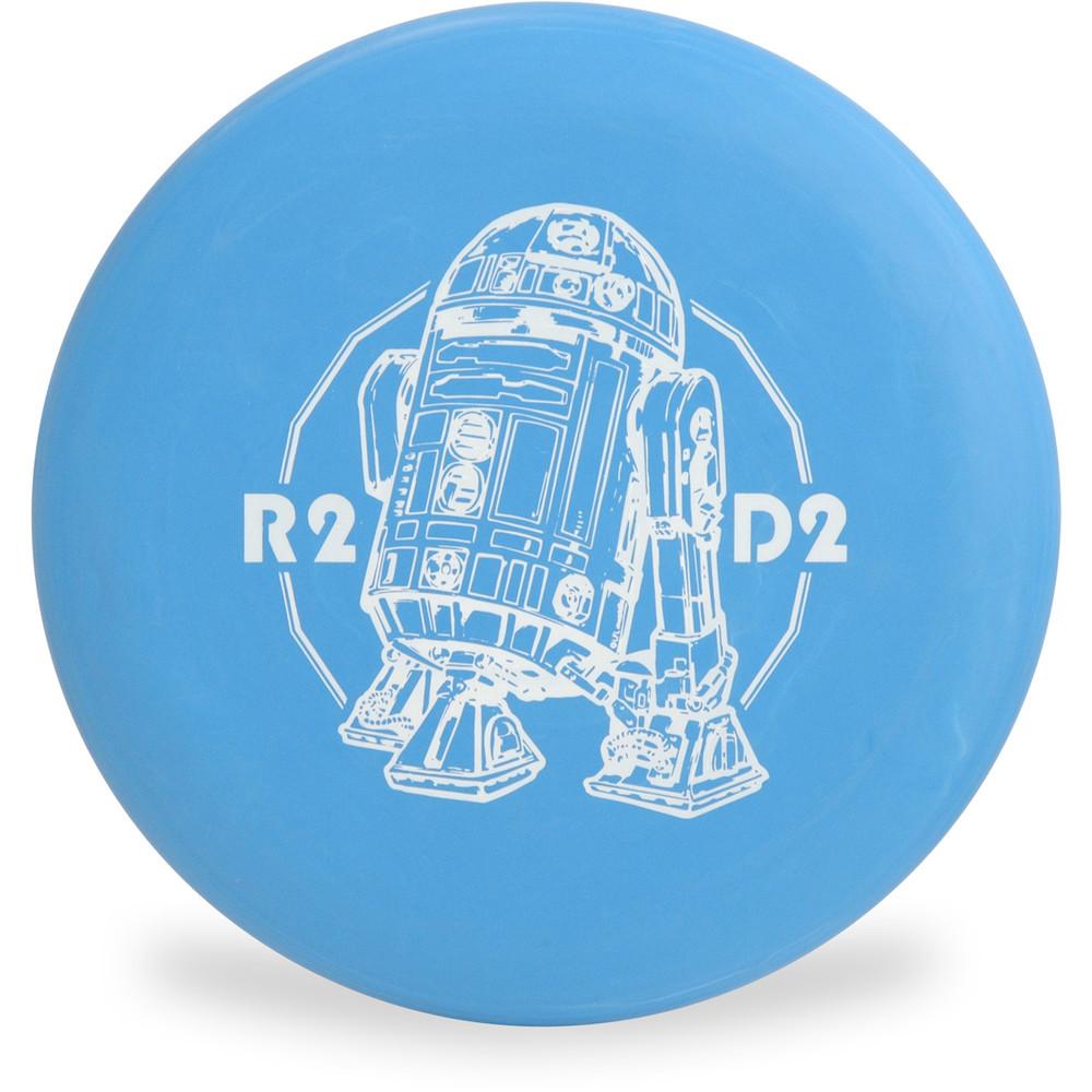 Discraft D CHALLENGER - STAR WARS Design R2 D2 Disc Golf Putter Front View