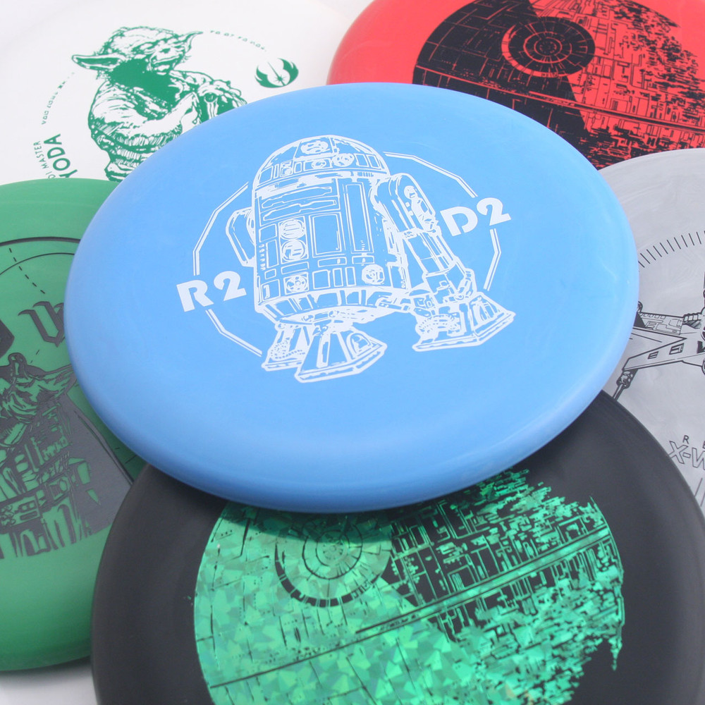Discraft D CHALLENGER - STAR WARS Design - multiple colors spread out and overlapping