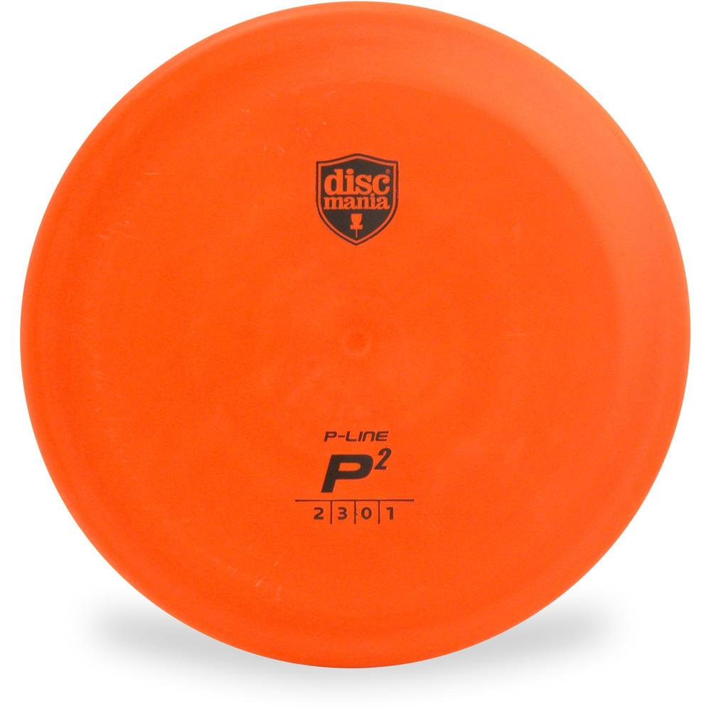 Discmania P-LINE P2 Putter Golf Disc Orange Front View