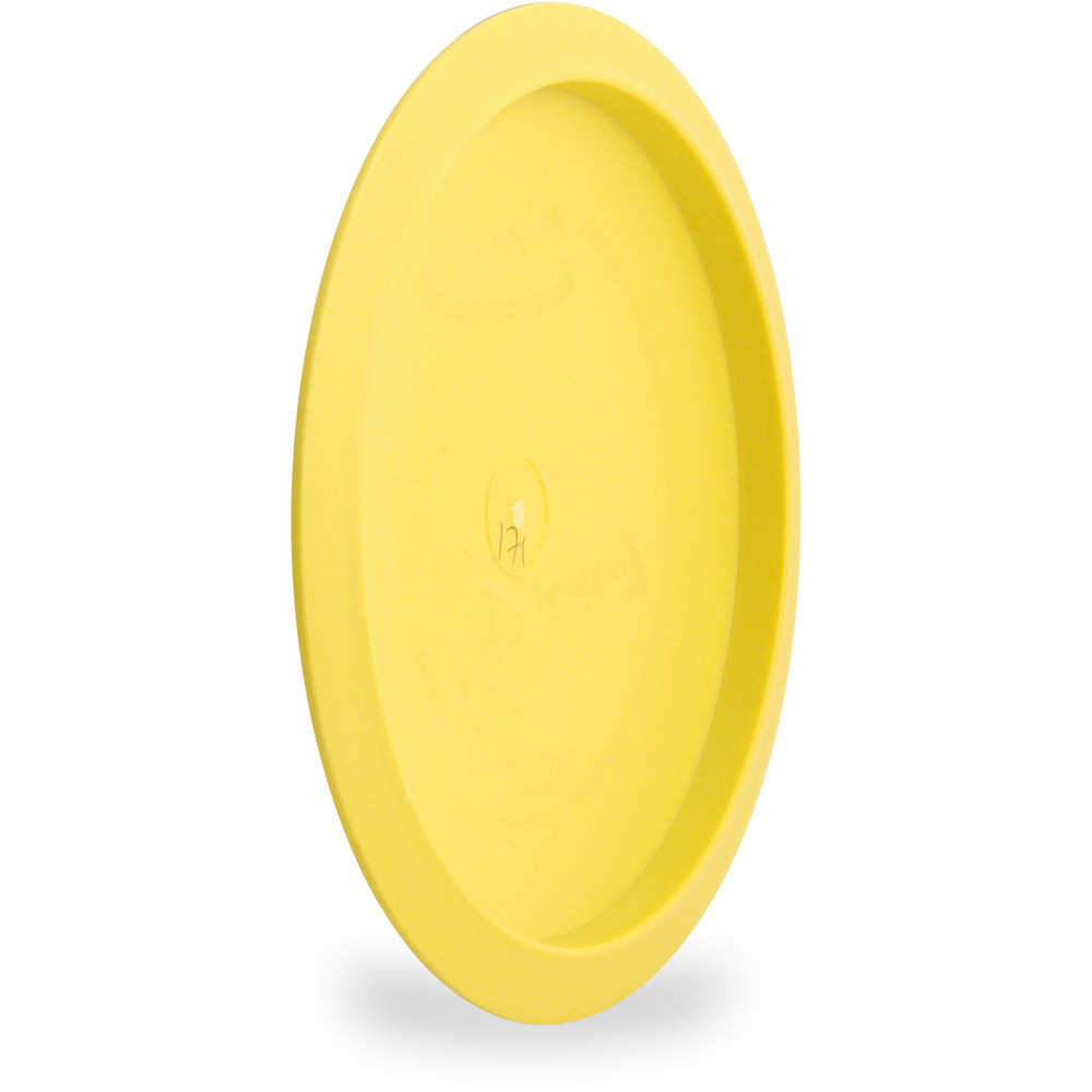 Innova DX LEOPARD - SUPER LIGHT Driver Golf Disc Yellow Angled Bottom View