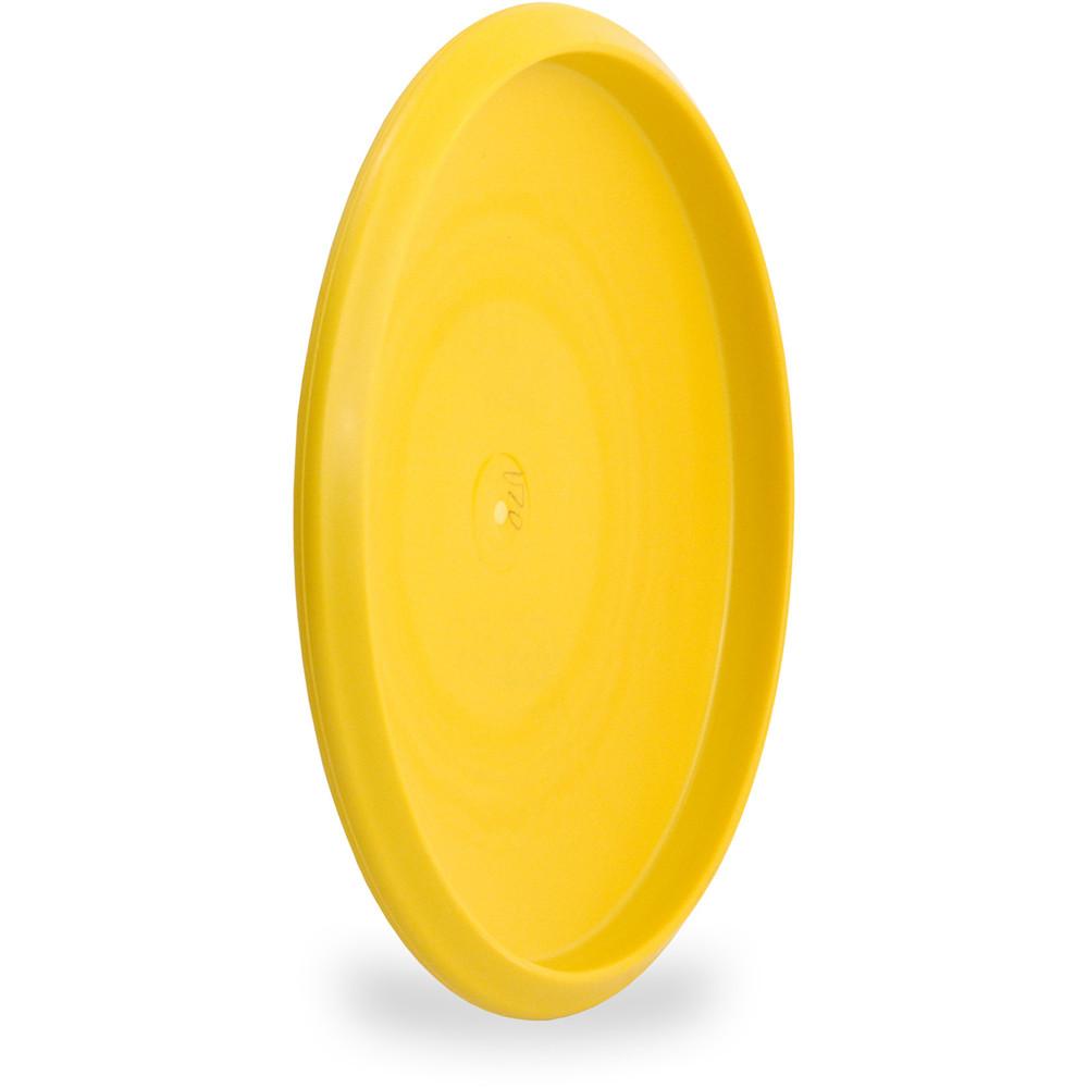 Innova XT DART Putter & Approach Golf Disc Yellow Angled Bottom View