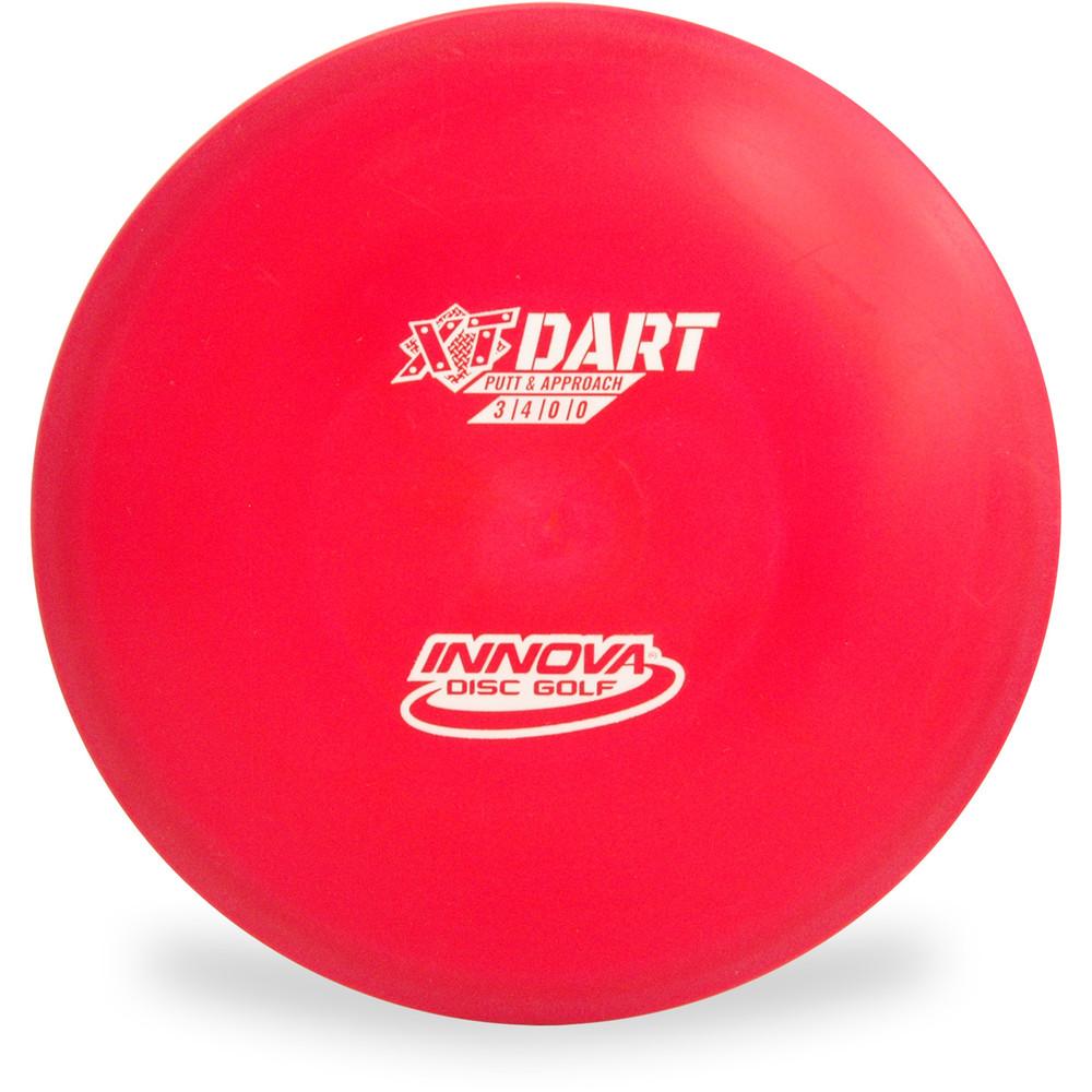 Innova XT DART Putter & Approach Golf Disc Red Top View