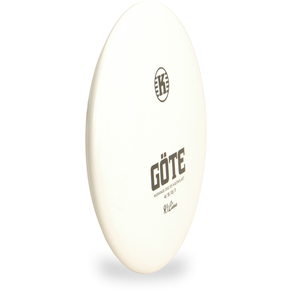 Kastaplast K1 GOTE Mid-Range Golf Disc Angled Top View