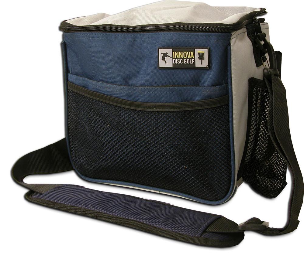 Innova starter disc golf bag in blue and gray color