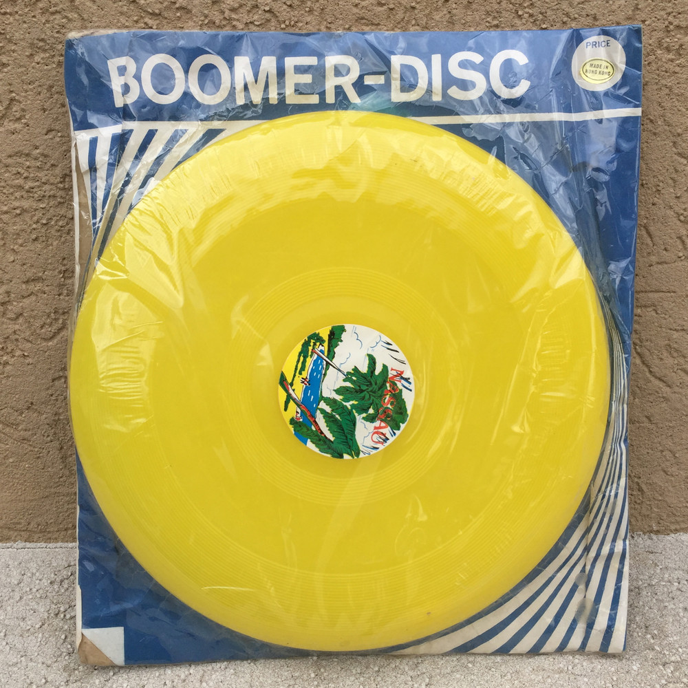 BOOMER DISC PACKAGED- NASAU - FRISBEE FLYING DISC