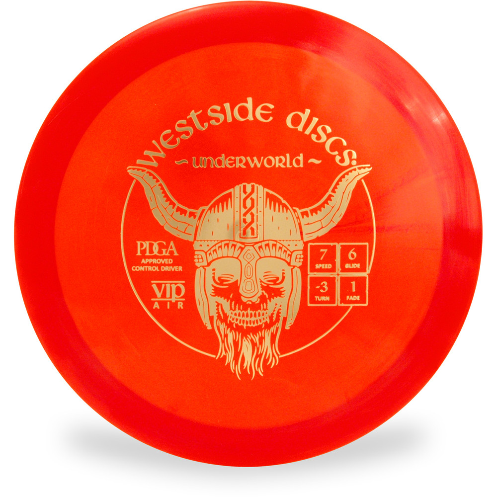Westside VIP AIR UNDERWORLD Fairway Driver Red Top View