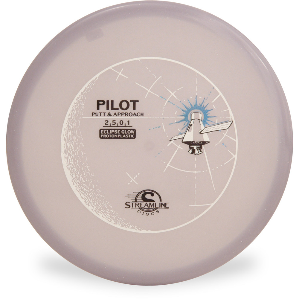 Streamline ECLIPSE PILOT GLOW Putter & Approach Purple Top View