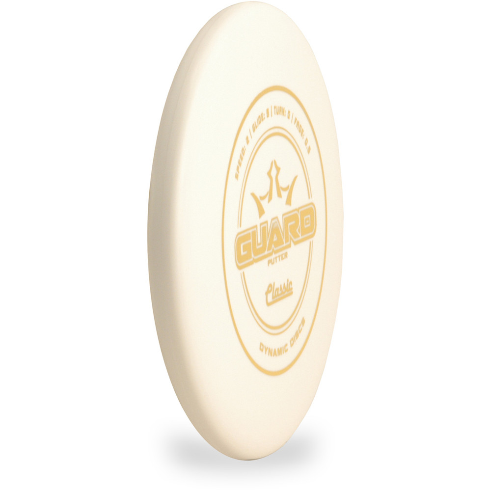 Dynamic Discs CLASSIC GUARD Putter & Approach Angled Top View