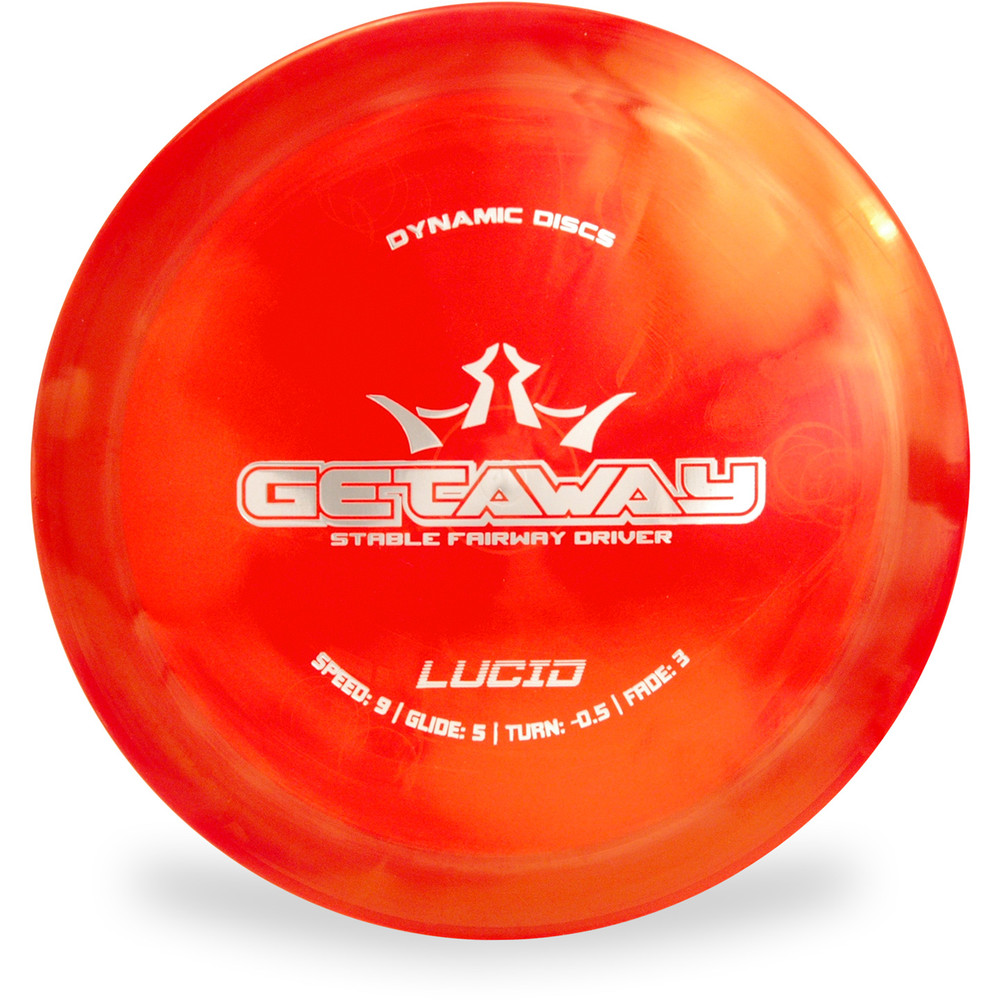 Dynamic Discs LUCID GETAWAY Driver Red Top View