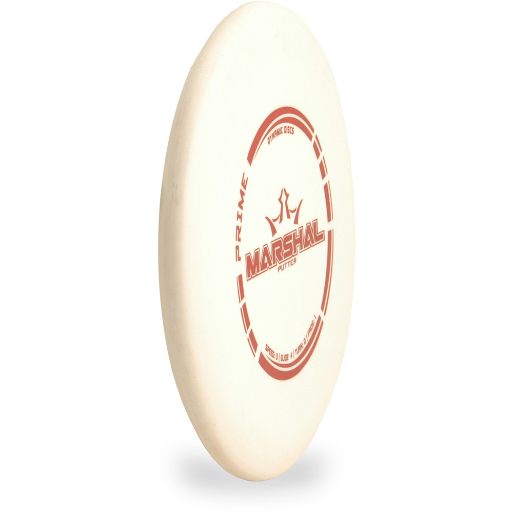 Dynamic Discs PRIME MARSHAL Putter & Approach Angled Top View