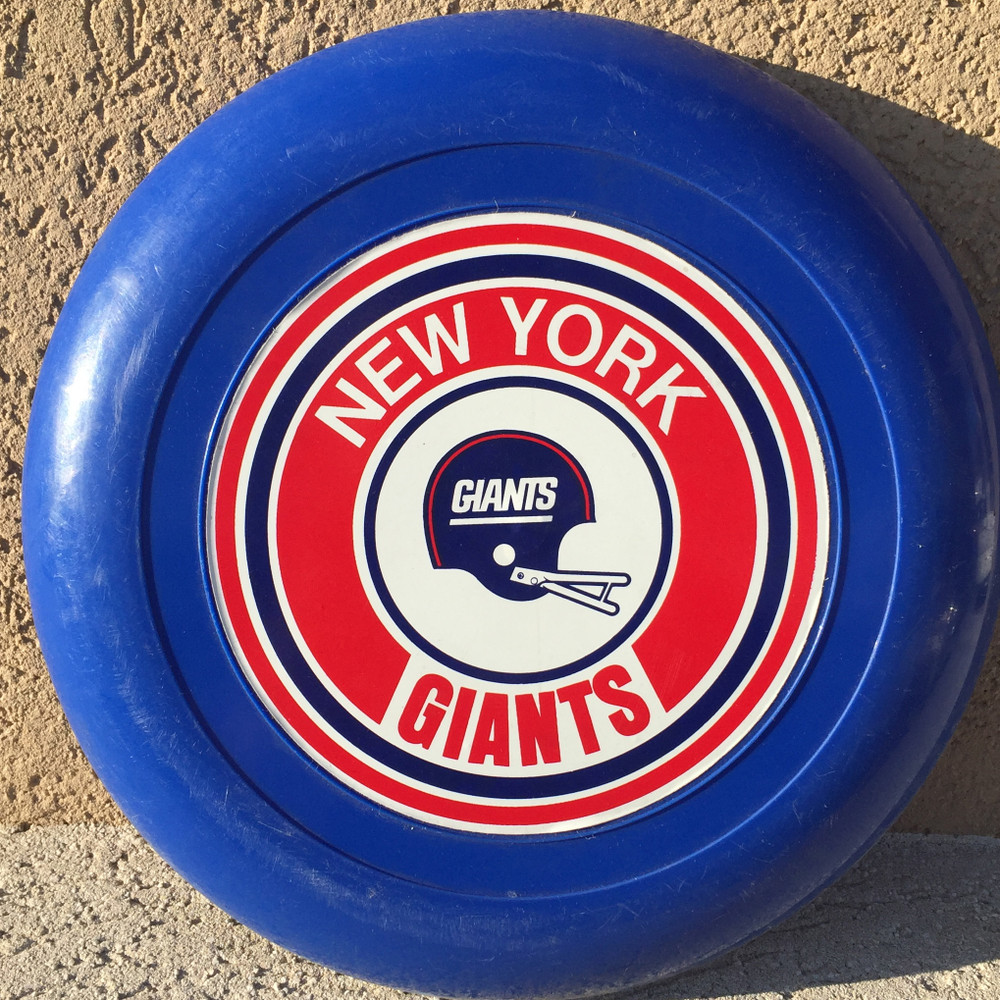 UNKNOW MANUFACTURER NEW YORK GIANTS PRINTED DISC