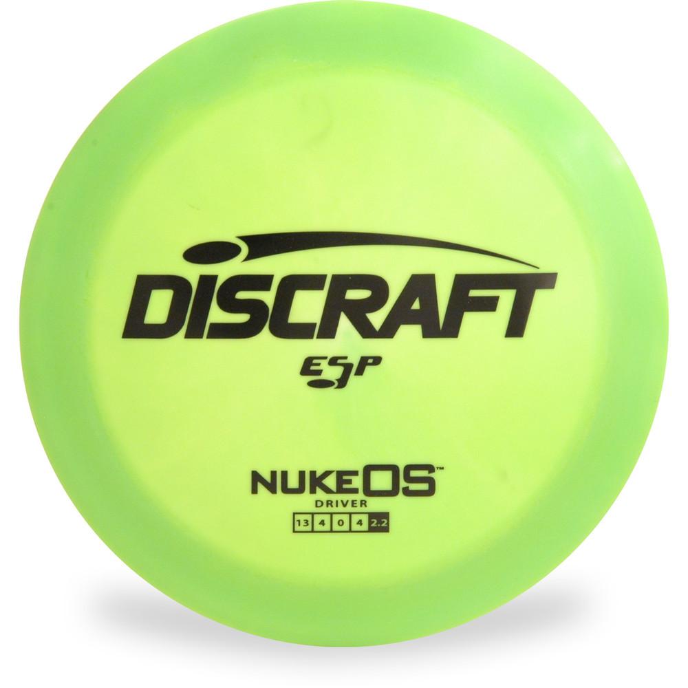 Discraft ESP NUKE OS Neon Green Top View