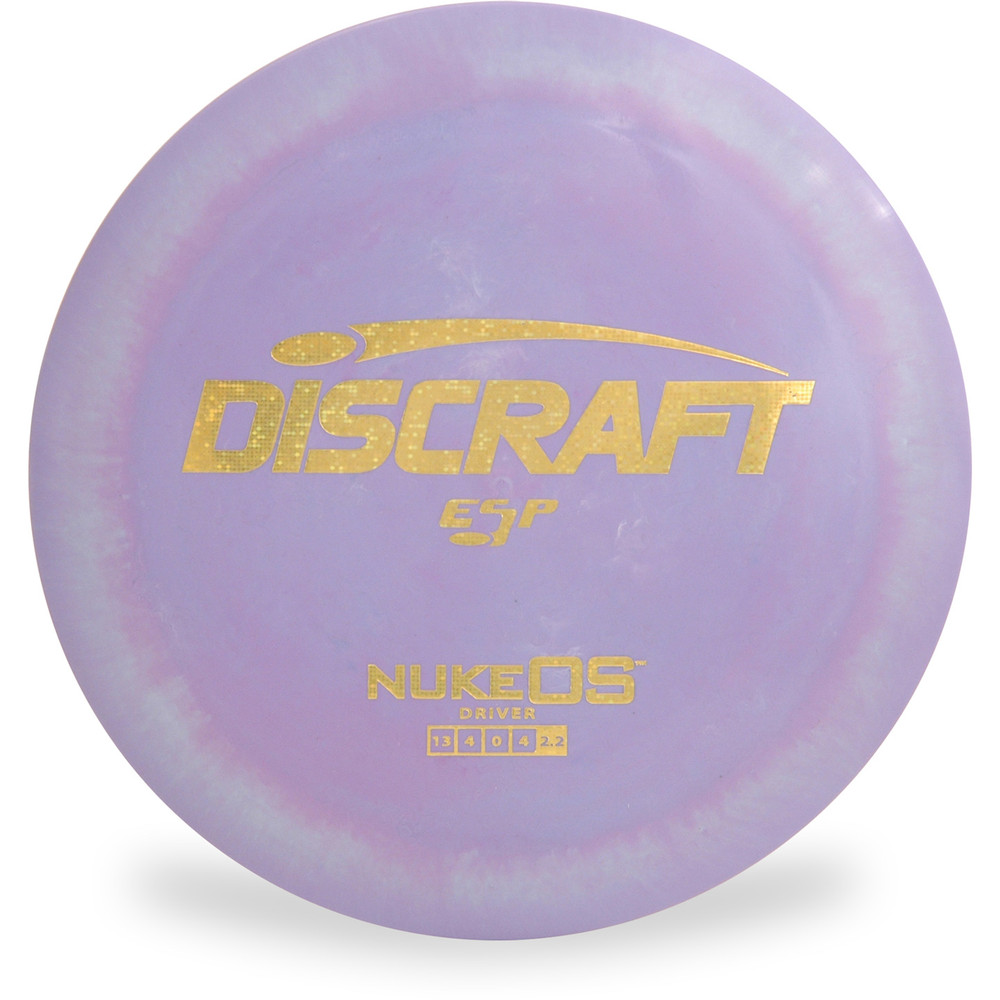 Discraft ESP NUKE OS Purple Top View