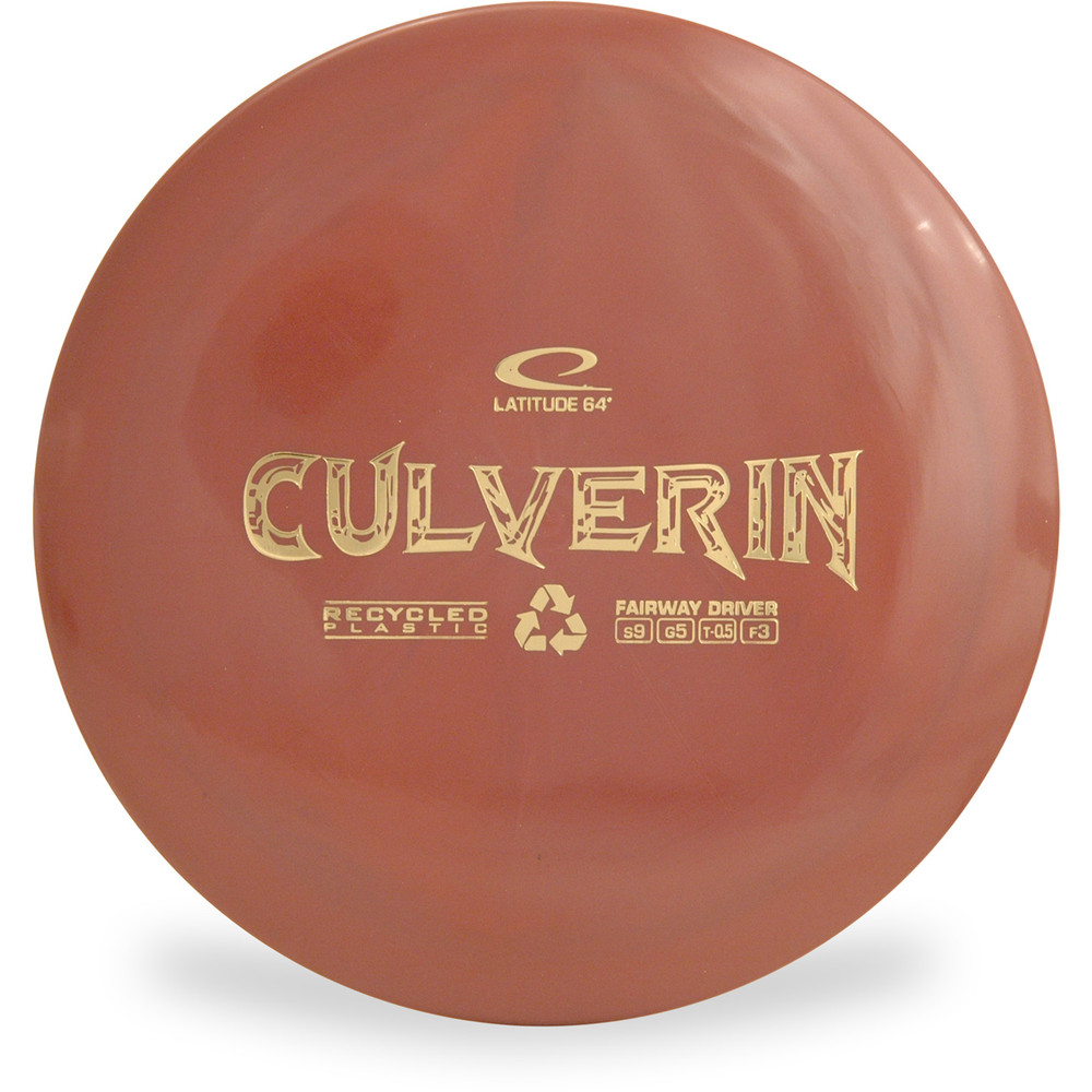 Latitude 64 CULVERIN Recycled Driver Brown Top View