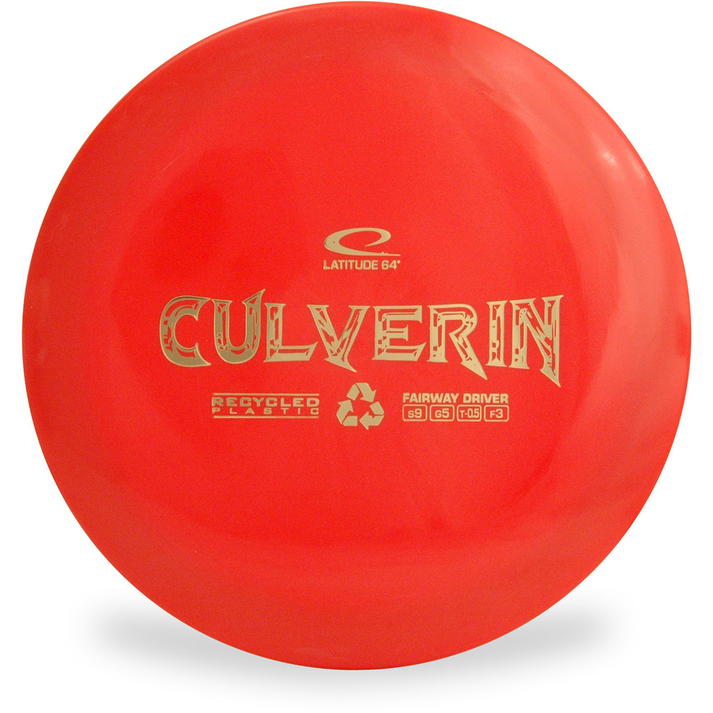 Latitude 64 CULVERIN Recycled Driver Red Top View