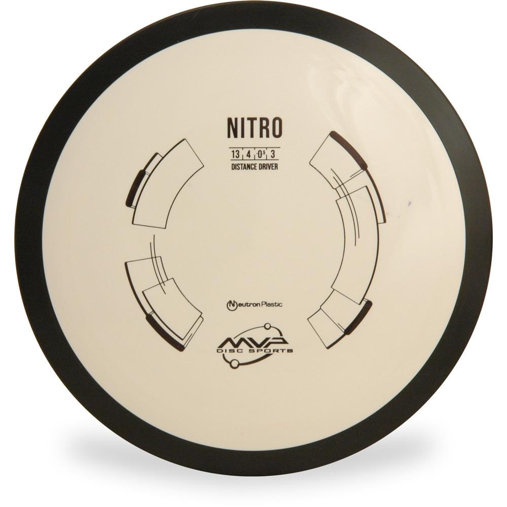 MVP NEUTRON NITRO Driver White Top View