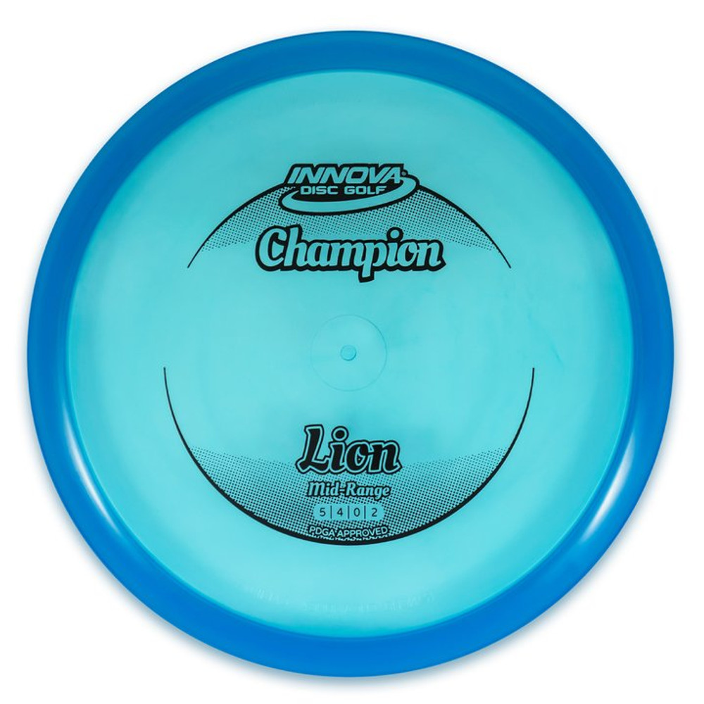 Innova CHAMPION LION Mid-Range - top view of blue disc